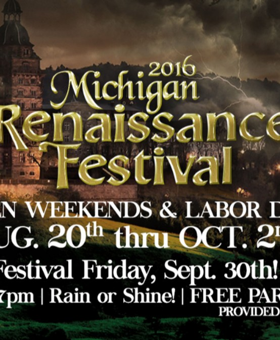 Michigan Renaissance Festival is still going on this weekend